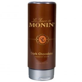 Monin Dark Chocolate Sauce 12oz