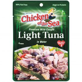 Chicken Of The Sea Premium Light Tuna Pouch 2.5oz.
