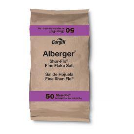 Cargill Alberger Shur-Flo Fine Flake Salt 50lb.