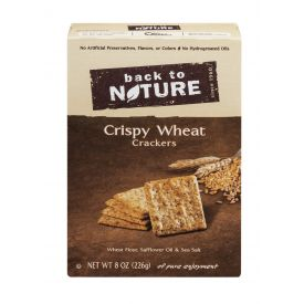 Back To Nature Crispy Wheat Crackers 8oz.