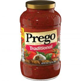 Prego Traditional Spaghetti Sauce - 24oz