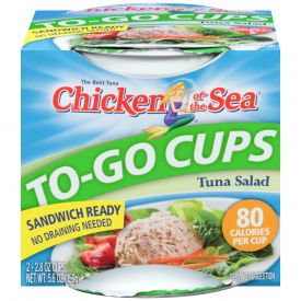Chicken Of The Sea Tuna Salad Cup 2.8oz.