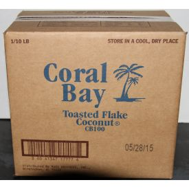 Coral Bay Toasted Flake Coconut 10lb.