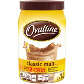 Ovaltine Classic Malt Mix 12oz.
