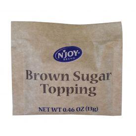 N'joy Brown Sugar Topping 13gm.
