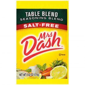 Mrs. Dash Salt Free Table Blend Seasoning - 0.02oz