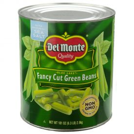 Del Monte Fancy Cut Green Beans - 101oz