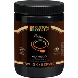 Custom Culinary Whisk & Serve Alfredo Mix Sauce - 38oz