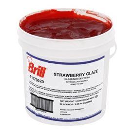Brill Strawberry Glaze 20lb.