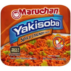 Maruchan Yakisoba Spicy Chicken 4.11oz.
