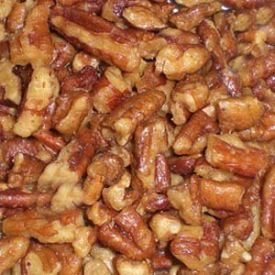 Bakers Select Candied Medium Pecan Pieces 5lb.