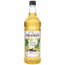 Monin French Vanilla  Flavored Syrup - 33.8oz
