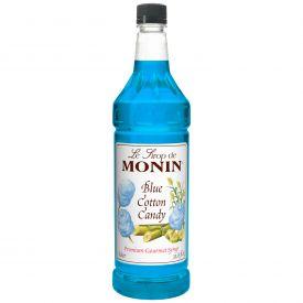 Monin Blue Cotton Candy Syrup - 33.8oz
