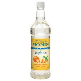 Monin Sugar-Free Triple Sec Syrup - 33.8oz.