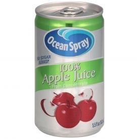 Ocean Spray Apple Juice 5.5oz.