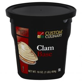 Custom Culinary Masters Touch Clam Base - 1lb