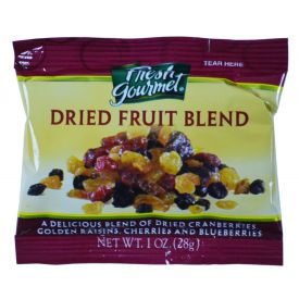 Fresh Gourmet Dried Fruit Blend for Oatmeal 1oz.