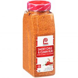 Lawrys Smoky Chile & Cumin Rub 25oz