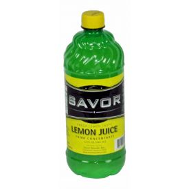 Savor Lemon Juice 32oz.
