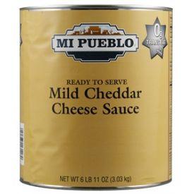 Mi Pueblo Mild Cheddar Cheese Sauce - 107oz
