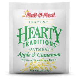 Malt O Meal Hearty Tradition Apple & Cinnamon Instant Oatmeal 1.23oz