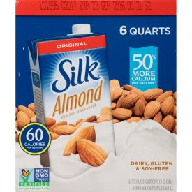 Silk Aseptic Pure Original Almond Milk 31.99oz.