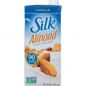 Silk Aseptic Vanilla Almond Milk 31.99oz.