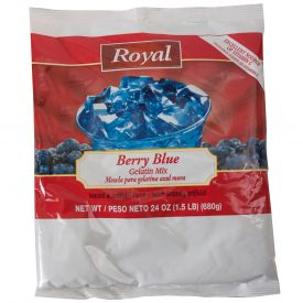 Royal Blueberry Gelatin Mix 24oz.