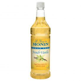 Monin Sugar Free Vanilla Syrup 33.8oz