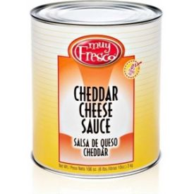 Muy Fresco Cheddar Cheese Sauce - 106oz