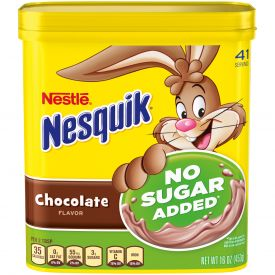 Nesquik Chocolate Milk Sugar Free 16oz.