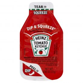 Heinz Tomato Ketchup Squeeze & Dip Pack 27gm.