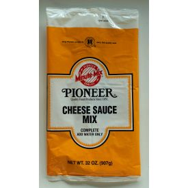 Pioneer Cheese Sauce Mix 32oz.