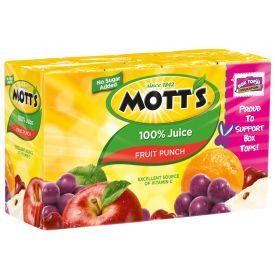 Mott's Fruit Punch 6.75oz.