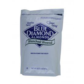 Blue Diamond Sliced Silvered Almonds 2lb.