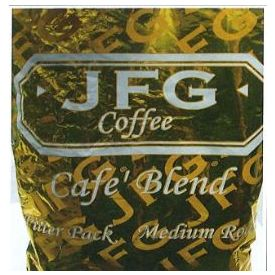 JFG Cafe Blend Filter Pack 1.5oz.