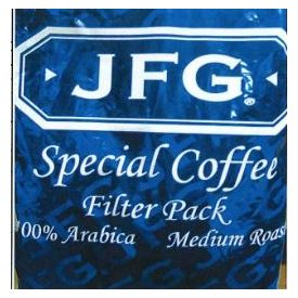 JFG Special Coffee Filter Pack 2oz.