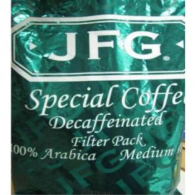JFG Special Coffee Decaf Filter Pack 2oz.