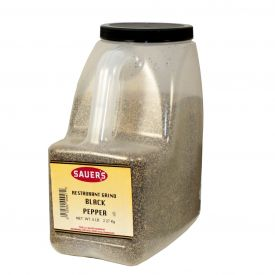 Sauer's Restaurant Grind Black Pepper - 5lb