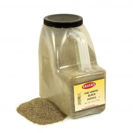 Sauer's Pure Ground Black Pepper - 5lb.