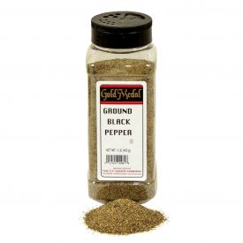 Sauer's Ground Black Pepper - 1lb