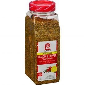 Lawry's Salt-Free Lemon & Pepper Seasoning - 19oz