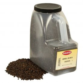 Sauer's Whole Black Pepper - 1 Lb