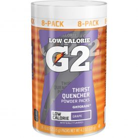 Gatorade G2 Grape Powder Sticks .53oz.
