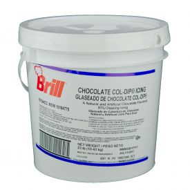 Brill ® Col'Dip Chocolate Pastry Icing 23lb