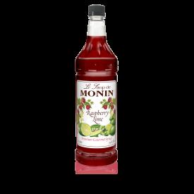 Monin Raspberry Lime Syrup 33.8oz.