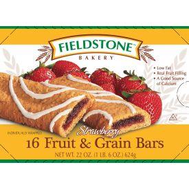 Fieldstone ® Strawberry Fruit & Grain Bar 1.38oz