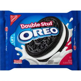 Oreo Double Stuf chocolate cookie wafers - 15.35 oz