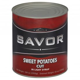 Savor Canned Cut Sweet Potato In Light Syrup