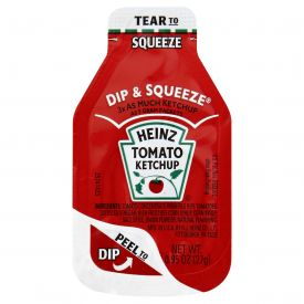 Heinz Tomato Ketchup Dip & Squeeze Pack 27gm.